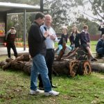 Allen Edwards and Phil Hoffmann, Blackwood Walk of Reconciliation, 29 May 2016